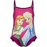 Bee-Square Frozen - Die Eiskönigin Badeanzug mit tollem Anna & ELSA - Motiv - 4 Jahre