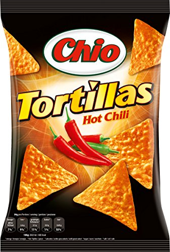 Chio Tortilla Chips Hot Chili 6er Pack  (6 x 125 g)