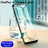OnePlus 6 5D Full Glue Tempered Glass Full Edge-to-Edge Screen Protection For One Plus 6 By MAGIC