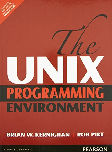 The UNIX Programming Environment by PIKE (2015-11-07) par PIKE