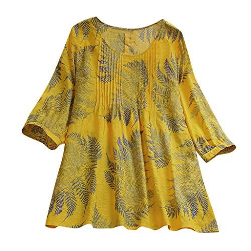 Beikoard Mujer De Camisa Tops Imprimiendo