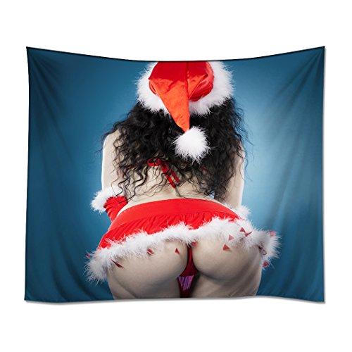 Arsch Jersey (YISUMEI Kissenbezug 45x45 cm Home Decor Sofa Werfen Kissenbezüge Pillowcases Arsch Popo Sexy Weihnachten Kleidung)