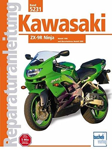Kawasaki ZX 9-R Ninja   1998-2000 (Reparaturanleitungen) - 9r 9