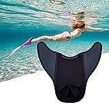 thorityau 2 PCS Kids Monoid Tails Swim Fins Diving Nuoto Pinne Training Accessori Bambini Pinne da Immersione in Un Unico Pezzo
