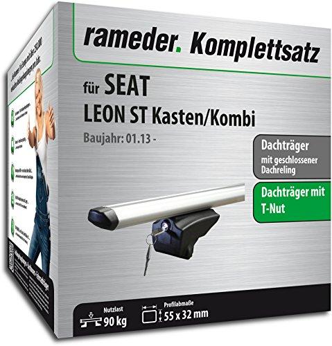Rameder Komplettsatz, Dachträger Pick-Up für SEAT Leon ST Kasten/Kombi (111286-38536-1)