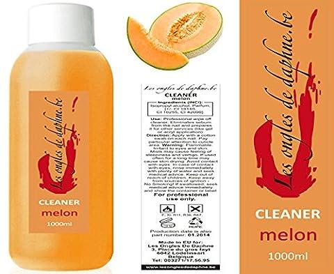 Cleaner Odeur Melon 1 Litre Nail art dégraissant ongles gel