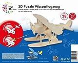 Mara by Marabu 046000002 - Wasserflugzeug, 3D Puzzle, 28-Teile