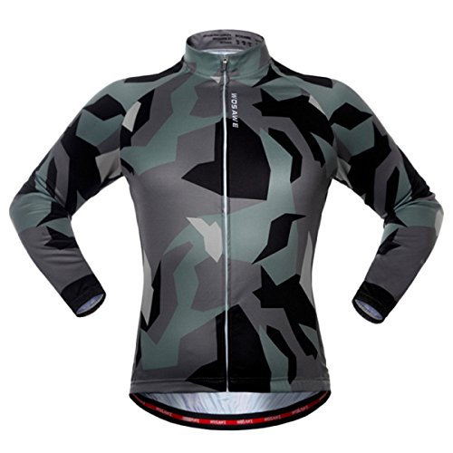 Forspero Camouflage Riding Suit Long Sleeve Top Herbstflaubenpflaubenbekleidung Outdoor-Sportjacke - L