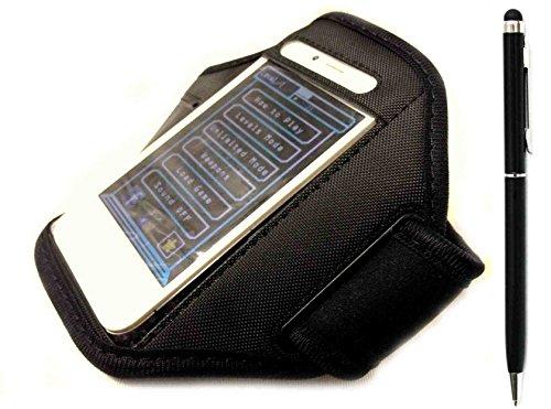 C63®-Schwarz Sport Arm Band für iPhone 5und 5S (Arm-bänder Für Iphone 5s)