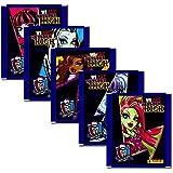 Panini - Monster High Serie 3 - Sammelsticker 5 Booster Packungen 25 Sticker - Deutsche Ausgabe