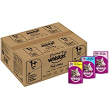 Whiskas 1+ Cat Pouches Mixed Selection in Jelly, 84 x 100 g