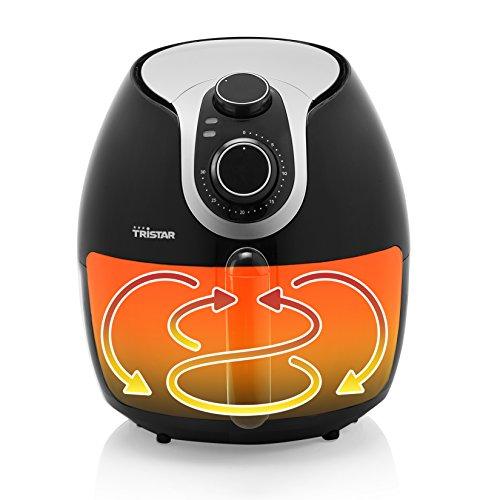 Tristar Heißluftfritteuse/ Crispy Fryer XXL mit einstellbarem Thermostat und Timer | ohne ÖL - einfach zu reinigen – mit 5,2 Liter Fassungsvermögen, FR-6996 - 9