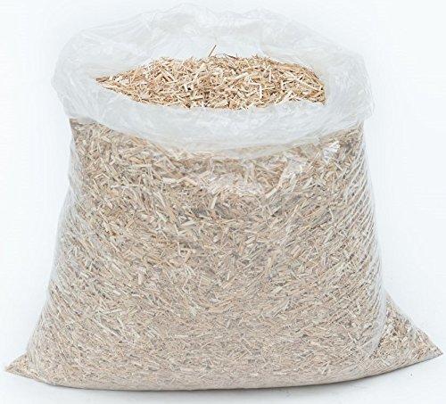 Jumbogras® Pferde/Großtier-Einstreu 190 l, 27 kg aus Miscanthus/Elefantengras/Chinagras als Stroh- u. Sägespäne-Ersatz für saubere Pferdeboxen/Pferdestall/Paddock