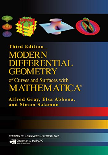Modern Differential Geometry of Curves and Surfaces with Mathematica (Textbooks in Mathematics) (English Edition)