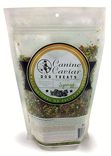 Canine Caviar Synergy - Mezcla de verduras deshidratadas orgánicas para perros