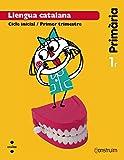 Llengua catalana + Contes per pensar. 1 Primària. Construïm. Trimestres - 9788466134323