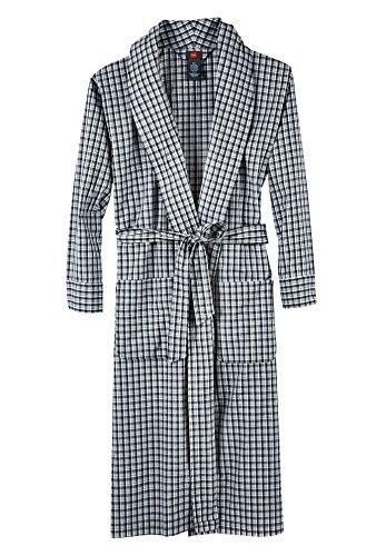 Preisvergleich Produktbild Hanes herren Hanes Men's Woven Shawl Collar Robe  Bademantel  -  schwarz -