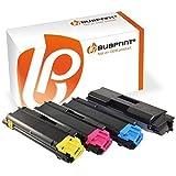 Bubprint 4 Toner kompatibel für Kyocera TK-580 TK-580K TK-580C TK-580M TK-580Y für Ecosys P6021CDN FS-C5150DN Black Cyan Magenta Yellow