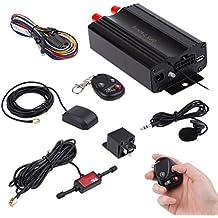 Tongshi Vehículo GPS SMS GPRS Rastreador Tiempo real que sigue el dispositivo TK103B syatem remoto
