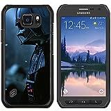 Jordan Colourful Shop - Dark Lord Vader Darth For Samsung Galaxy S6 active/G870A/G890A (Not Fit S6) Personalizado negro cubierta de la caja de pl????stico