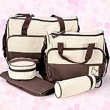 Set 5 kits, Bolsa de Mama Para Bebe Biberon Bolso/Bolsa/Bolsillo Maternal