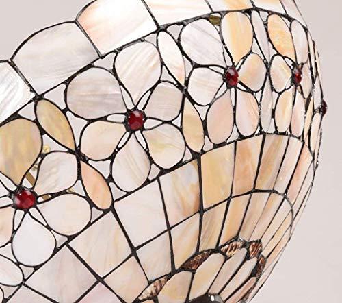 GCCI Garrestaurant Haus der europäischen Stilstudie Tiffany Chandeliers Anti-künstlerische Kreativität Blumen-Perlmutt-Raumbeleuchtung.