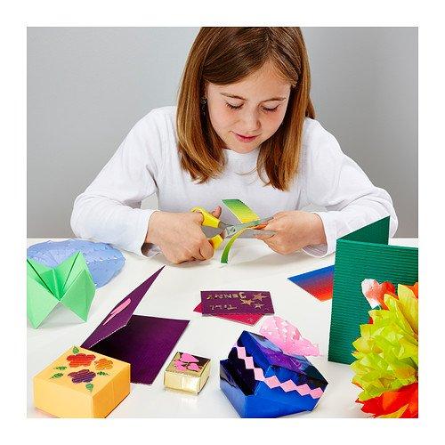 IKEA MALA - Conjunto de la decoración de papel, una variedad de colores, diseños surtidos