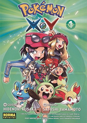 Pokémon X·Y 1 por Satoshi Yamamoto Hidenori Kusaka