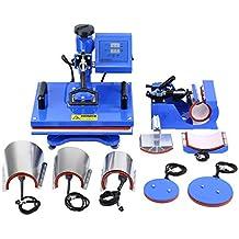 TryESeller Máquina de prensa de calor digital Swing Away Transferir la sublimación de la impresora para