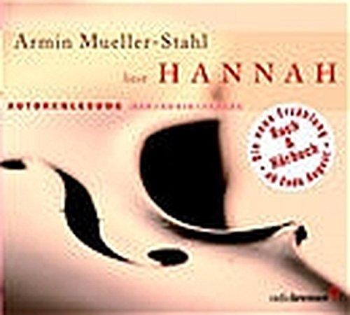 Hannah: Autorenlesung Stahl-audio