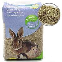 BPS Heno Alfalfa Natural Hierba Fresca para Mascotas Pequeñas 2 Modelo Elegir (Heno Alfalfa 1Kg