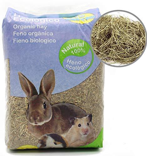 BPS Heno Alfalfa Natural Hierba Fresca para Mascotas Pequeñas 2 Modelo Elegir (Heno Alfalfa 1Kg) BPS-4054