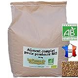 La Ferme Sauvegrain Aliment Complet Poule pondeuse Bio - 25kg