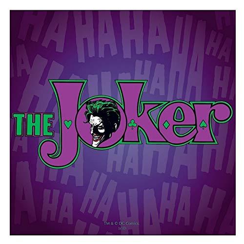 Echte DC-Comics Batman Der Joker-Single-Untersetzer trinkt Matte Vintage Retro Gotham