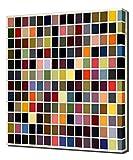 Lilarama Gerhard Richter - 180-colors- Art Leinwandbild - Kunstdrucke - Gemälde Wandbilder