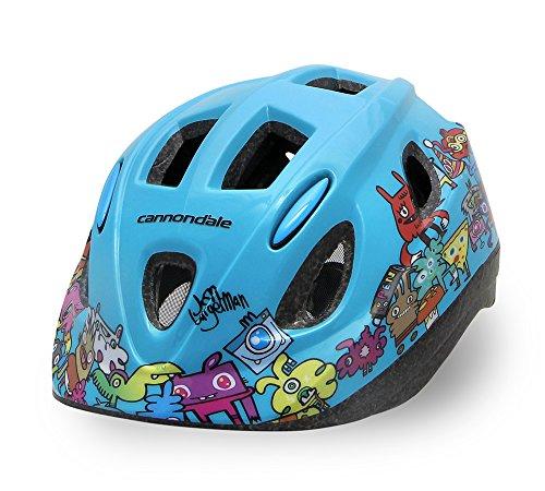 Cannondale Burgerman Colab Kinder Fahrrad Helm türkis blau 2019: Größe: S/M (52-57cm)