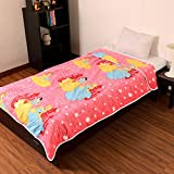 Factorywala Super Soft Cotton Cartoon Kids Print Reversible Single Bed Dohar, Blanket (Multicolour)