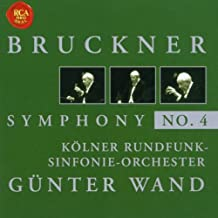 Symphony No. 4 (Wand, Ndr So) by Anton Bruckner (2002-04-02)