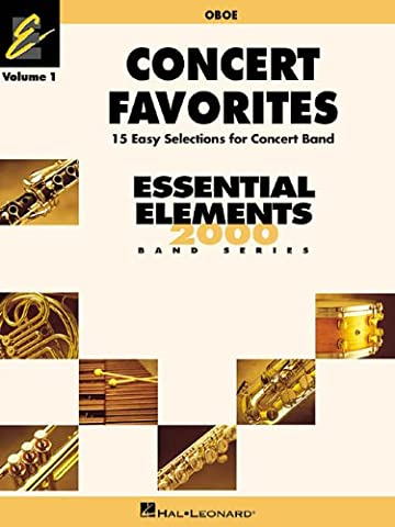Concert Favorites Vol. 1 - Oboe: Essential Elements 2000 Band Series