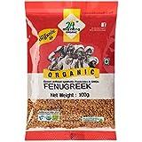 24 Mantra Organic Fenugreek Seed, 100g