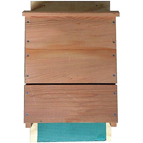 Hochwertiges Dreikammer Fledermaushaus Fledermauskasten Nistkasten von Platzhirsch