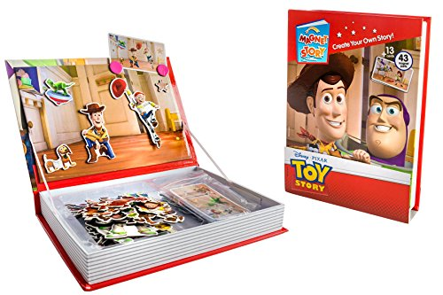 Disney Toy Story Interactive Magnet Story Cards Imagination Magnetic Playset with Sturdy Carry Case