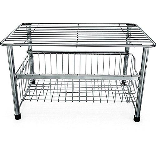 Pleasing Yomym Stackable Under Sink Cabinet Sliding Basket Organizer Download Free Architecture Designs Scobabritishbridgeorg