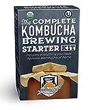 Fermentaholics The Complete Kombucha Brewing Starter Kit: Live Kombucha Scoby- fermentée Starter verre à thé Brew Pot-sucre et thé-Instructions et recettes + Plus! N/A