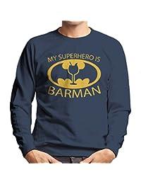 Batman My Hero Is Barman Men's Sweatshirt