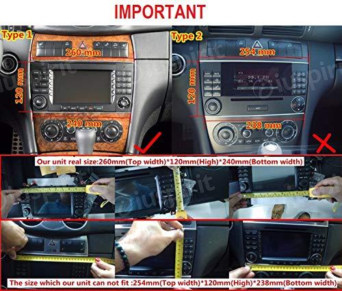 Android-90-GPS-DVD-USB-SD-WI-FI-BT-Autoradio-2-DIN-Navigationssystem-Mercedes-C-Klasse-W203-C220-C230-C240-C280-CLK-W209-CLK200-CLK-240-Mercedes-CLC-Klasse-W203-W467-A209-W219