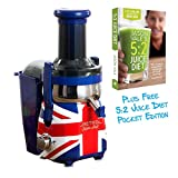 Best Juicer On The Markets - Retro Super Fast Union Jack Styled Centrifugal 700 Review