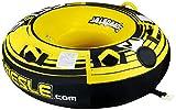 MESLE Tube Speedster 58'', 147 cm Donut Wasserreifen, gelb-schwarz