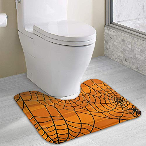sorbent Super Cozy Coral Velvet Bathroom Rug Toilet Carpet (15.74