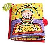 Jollybaby - Libro Blando Bebés Recien Nacido Juguete de Libro de Tela Durable para Desarrollo de...
